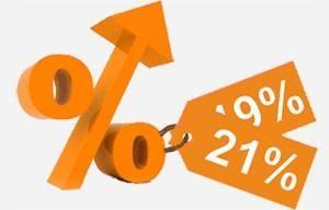 BTW verhoging van 19% naar 21%